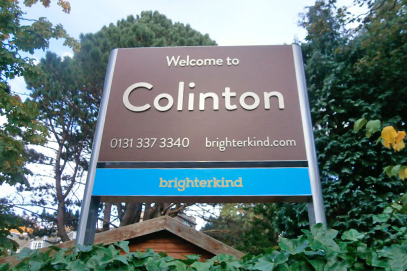 Brighter Kind Care Home Signage