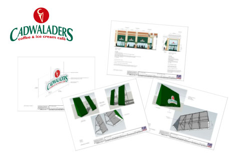 Cadwaladers Canopy Signs