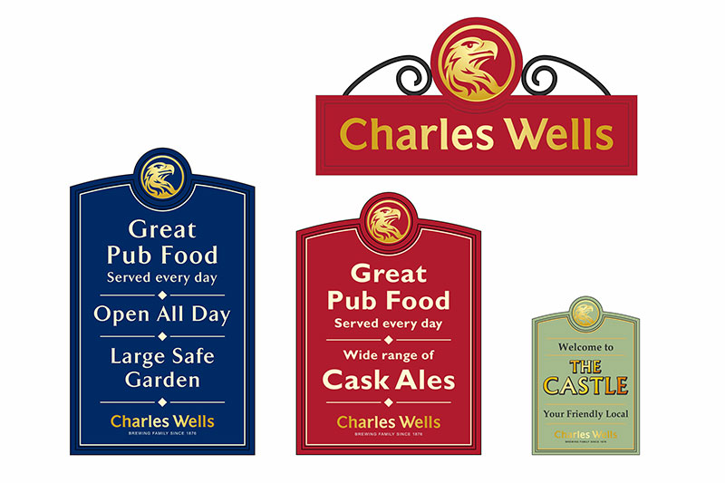 Charles wells amenity boards