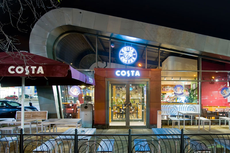 Costa coffee drive thru nottingham