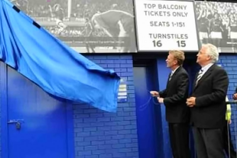 Everton timeline unveiling